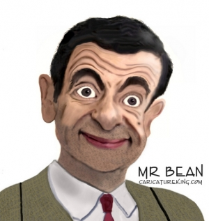 Caricature Mr.Bean